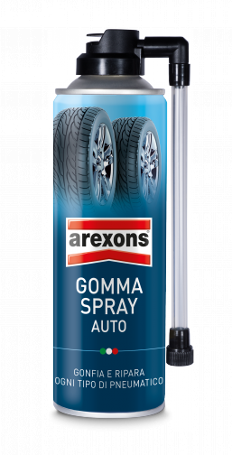 Gomma spray auto: sigilla forature