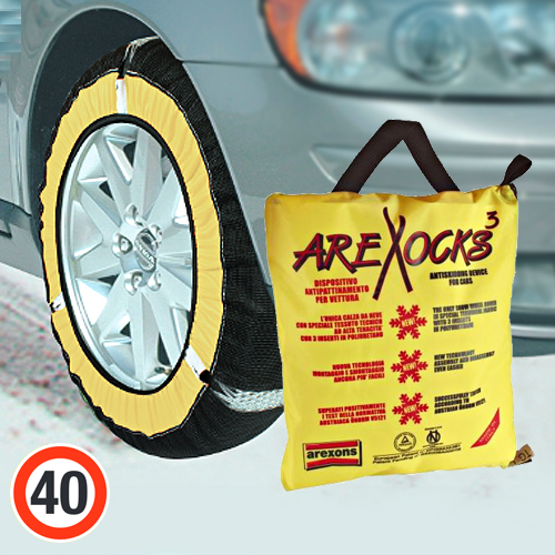 Arexocks calze da neve - taglia xl