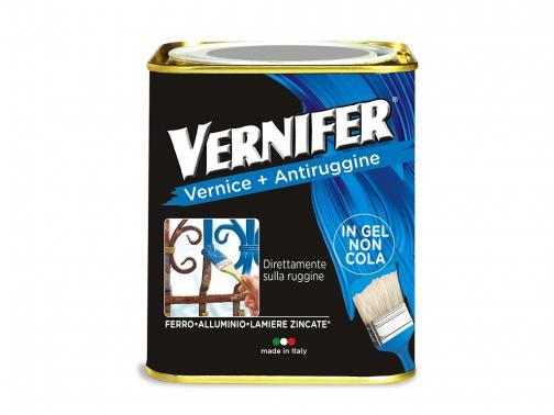 Vernifer bianco satinato: vernice antiruggine