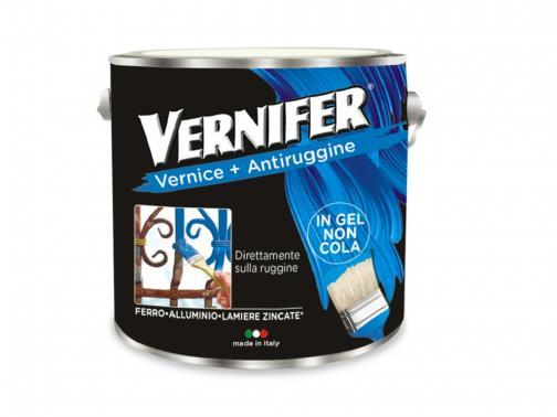 Vernifer grafite antichizzato 2l: vernice