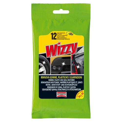 Wizzy rinnova gomme, plastiche e guarnizioni
