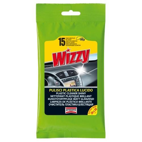 Wizzy pulisci plastica lucido