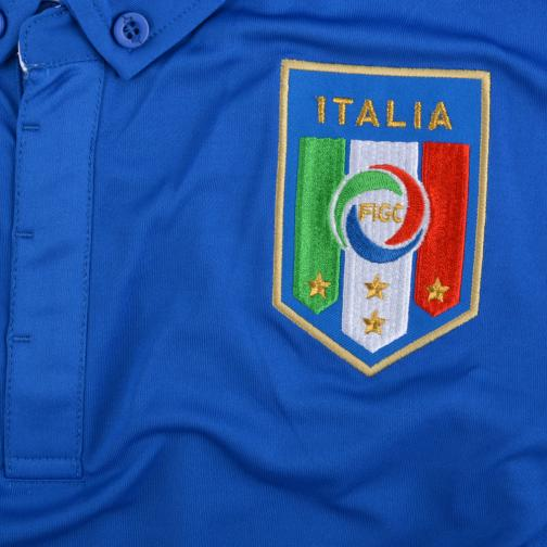 Figc Balotelli Home Shirt Replica Team Power Blue FIGC Store
