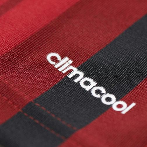 Adidas Maillot De Match Home Milan   14/15 RED AND BLACK Tifoshop