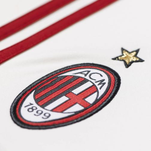 Adidas Spielerhose Home Milan Juniormode  14/15 White and Red Tifoshop