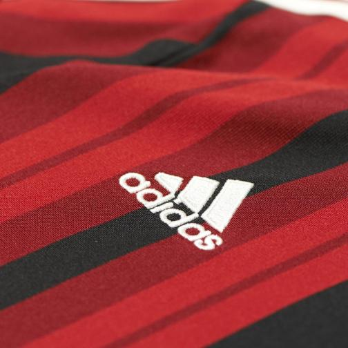 Adidas Shirt Home Milan Juniormode  14/15 RED / BLACK Tifoshop