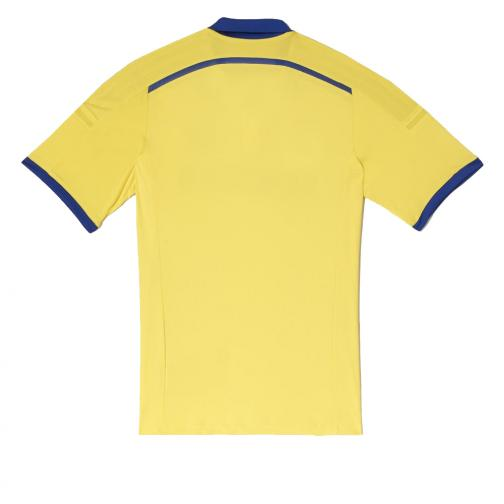 Adidas Shirt Away Chelsea   14/15 Yellow and Dark Blue Tifoshop