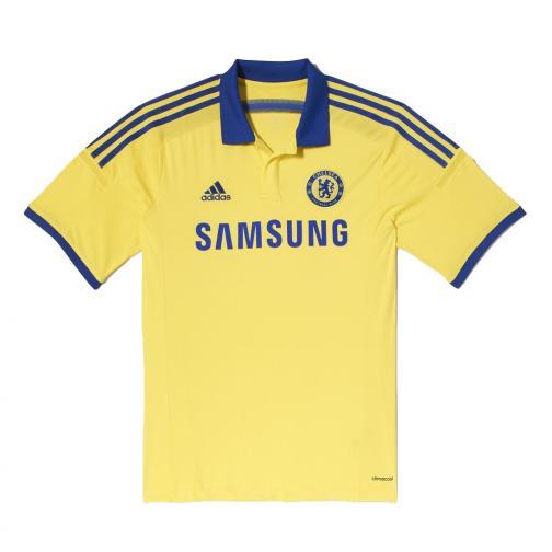 Adidas Maglia Gara Away Chelsea   14/15 Giallo e Blu