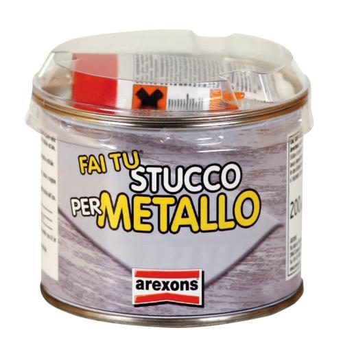 Kit fai tu stucco per metalli gr 200