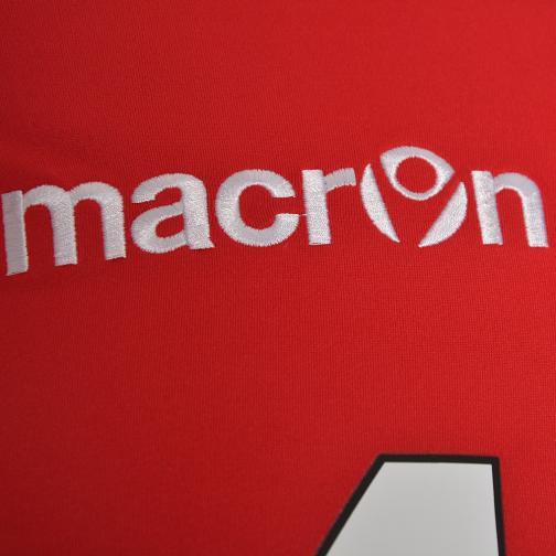 Macron Maglia Gara Home Az Alkmaar   14/15 ROSSO BIANCO Tifoshop