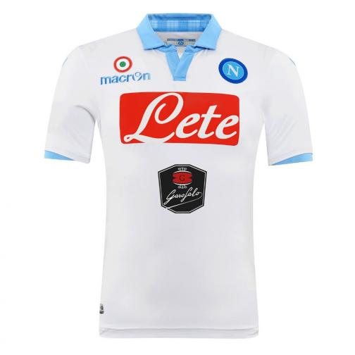 Macron Maillot De Match Third Naples   14/15 White