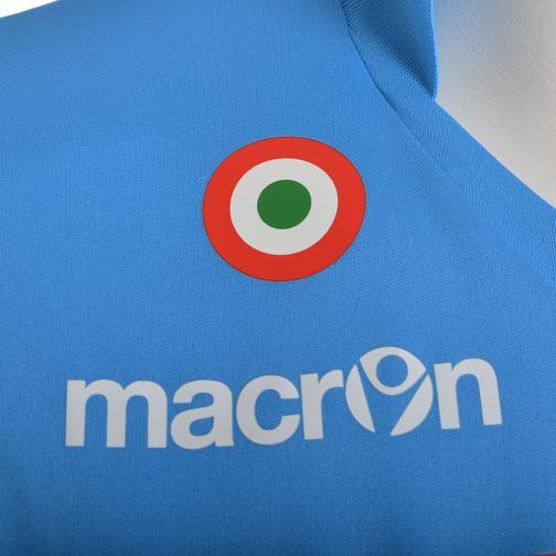 Macron Stadium Trikot Home Naples Juniormode  14/15 LIGHT BLUE Tifoshop