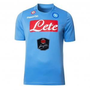 Macron Malliot de Stade Home Naples Enfant  14/15