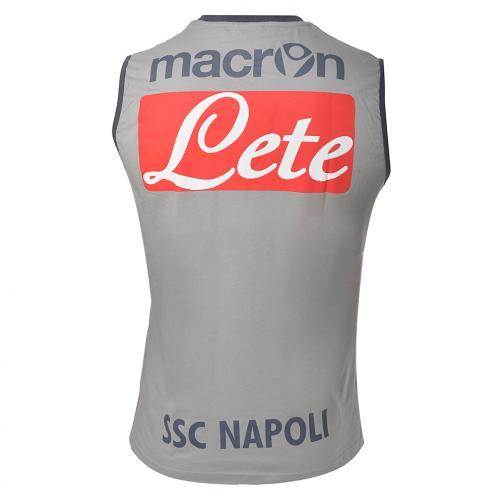 Macron ärmellos Training Naples GREY Tifoshop