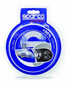 Coppia Lampade SPARCO +50XB ICE EFFECT-H4