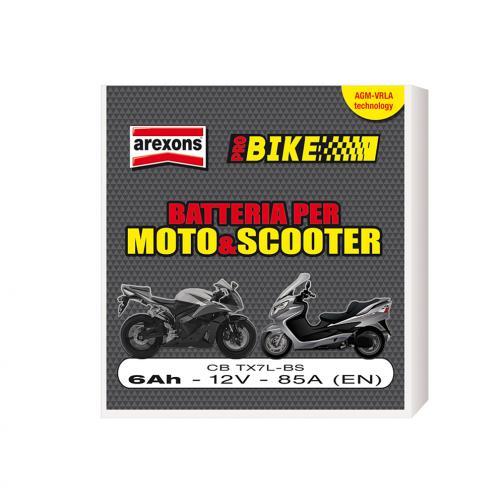 Cbtx7lbs - batteria scooter e moto 6ah 12v agm