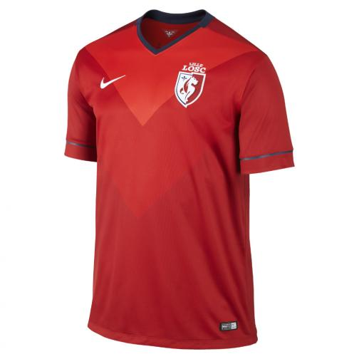Nike Maillot De Match Home Losc Lille   14/15 VARSITY RED/SPORT RED/FOOTBALL WHITE