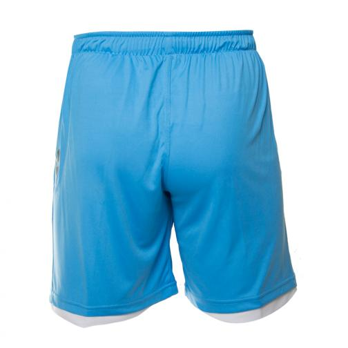 Macron Shorts De Course Europa League Naples   14/15 LIGHT BLUE Tifoshop