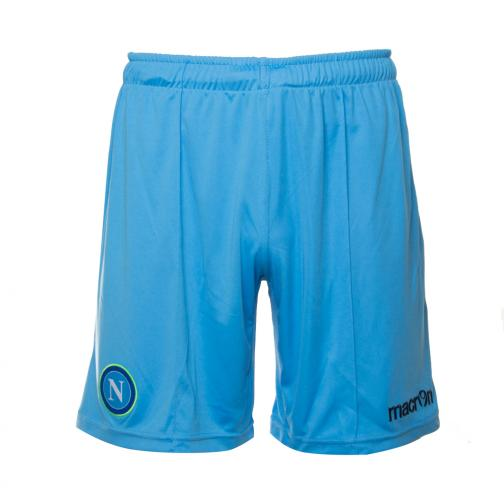 Macron Shorts De Course Europa League Naples   14/15 LIGHT BLUE