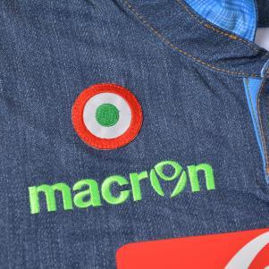 Macron Shirt Europa League Naples   14/15