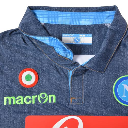 Macron Jersey Europa League Naples   14/15 Jeans Tifoshop