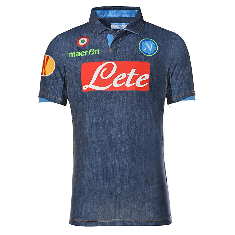 Macron Jersey Europa League Naples   14/15