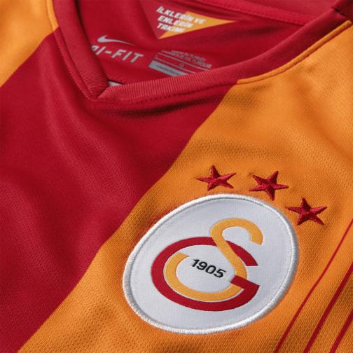 Nike Maillot De Match Home Galatasaray   14/15 PEPPER RED/VIVID ORANGE/PEPPER RED Tifoshop