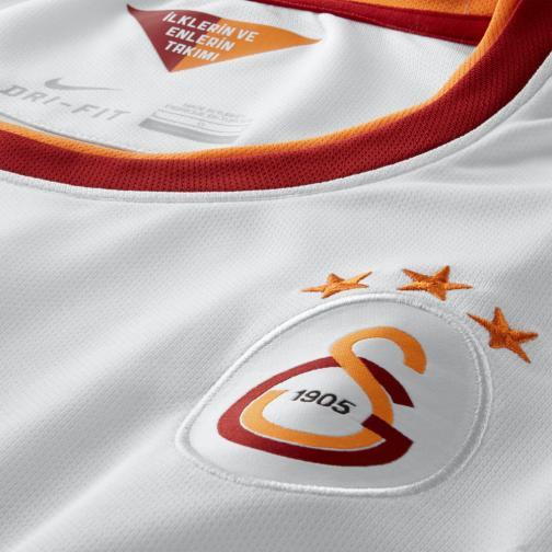Nike Jersey Away Galatasaray   14/15 FOOTBALL WHITE/VIVID ORANGE/PEPPER RED Tifoshop