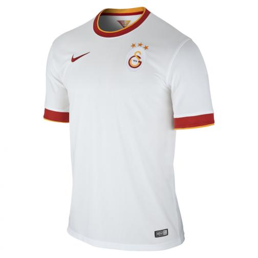 Nike Jersey Away Galatasaray   14/15 FOOTBALL WHITE/VIVID ORANGE/PEPPER RED