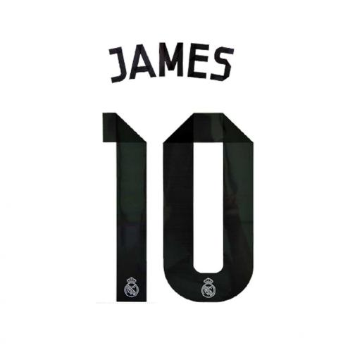 Sporting Id Official Number And Name  Real Madrid   14/15 BLACK