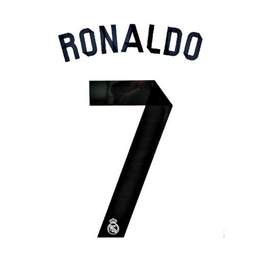 Sporting Id Inscription Et Numéro Officiel  Real Madrid   14/15 BLACK
