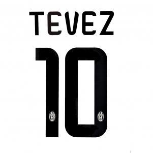 Stilscreen Scritta E Numero Ufficiale  Juventus   14/15
