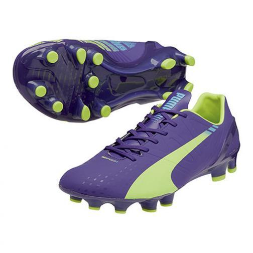 Puma Fußball-schuhe Evospeed 2.3 Fg prism violet-fluro yellow