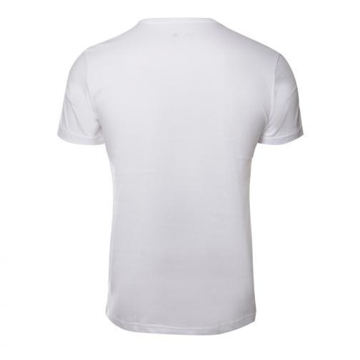 Adidas T-shirt Open Day Bkn Brooklyn Nets White Tifoshop