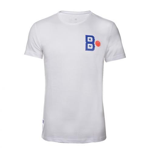Adidas T-shirt Open Day Bkn Brooklyn Nets White