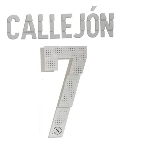 Decor 5 Official Number And Name  Naples   14/15 WHITE
