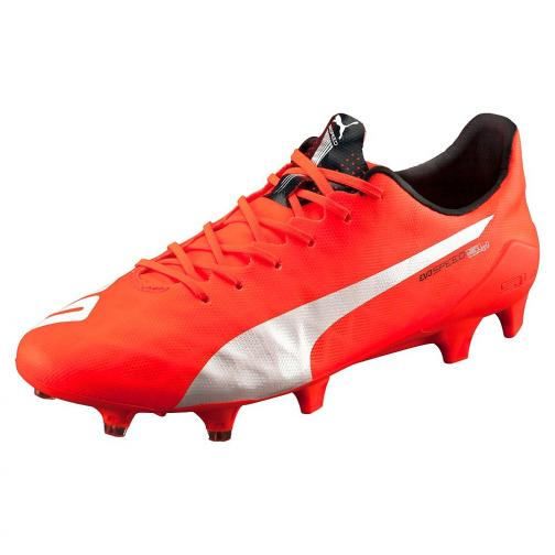 Football Shoes Evospeed Sl Fg lava blast-white-total eclipse FIGC Store
