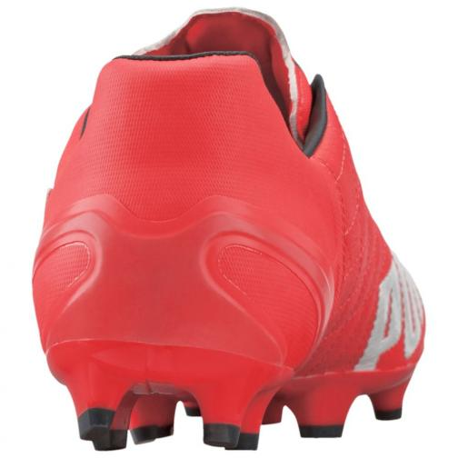 Puma Chaussures De Football Evospeed 3.4 Lth Fg lava blast-white-total eclipse Tifoshop