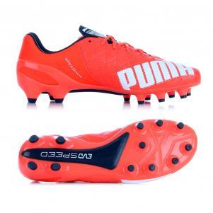 Football Shoes evoSPEED 1.4 Lth FG