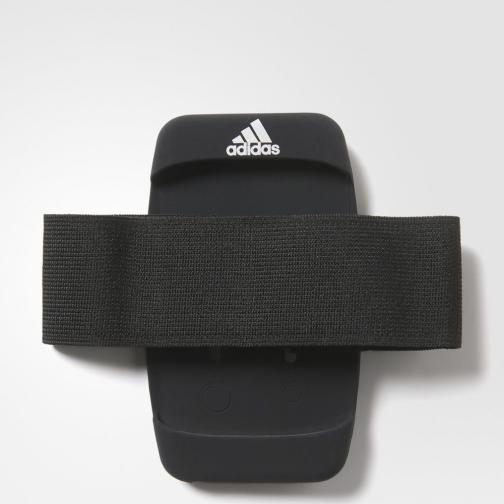 Adidas Bandelette Run Media Arm Pocket Black / Black / Reflective Silver