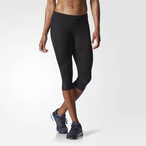 Adidas Kurze Hose Supernova 3/4 Tight  Damenmode black