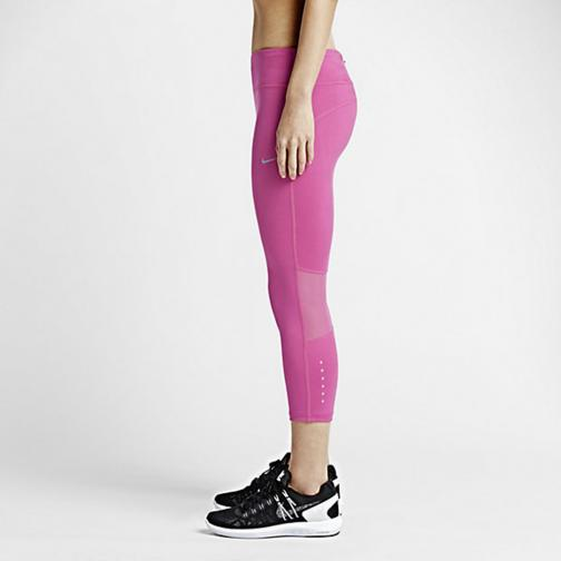 Nike Pantalone Dri-fit Epic Run  Donna Fucsia Tifoshop