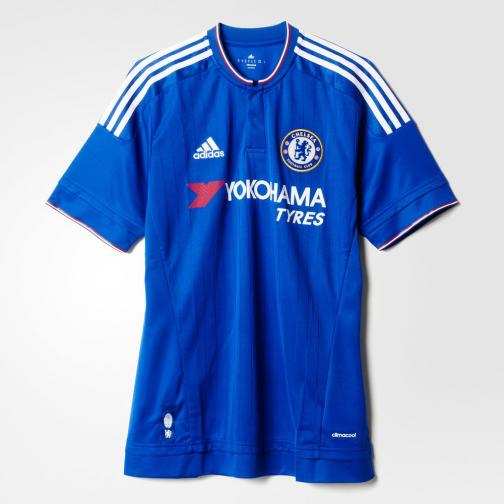 Adidas Maglia Gara Home Chelsea   15/16 Blu