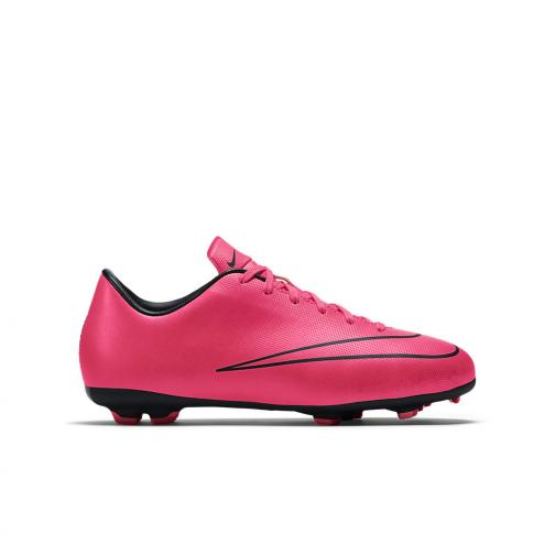 Nike Scarpe Calcio Mercurial Victory V Fg Jr  Junior Rosa