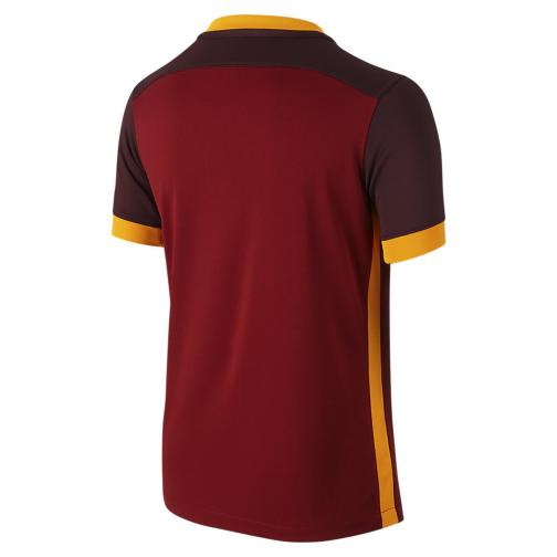 Nike Jersey Home Roma Junior  15/16 Red Tifoshop