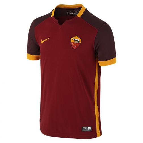 Nike Jersey Home Roma Junior  15/16 Red