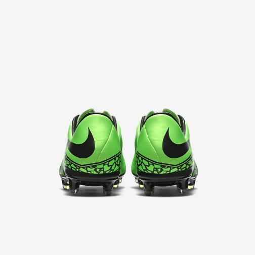 Nike Chaussures De Football Hypervenom Phatal Ii Fg GREEN STRIKE/BLACK Tifoshop
