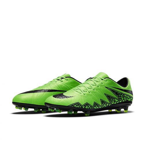 Nike Football Shoes Hypervenom Phinish Ii Fg GREEN STRIKE/BLACK Tifoshop