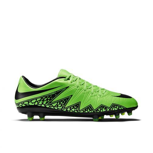 Nike Scarpe Calcio Hypervenom Phinish Ii Fg Verde Nero