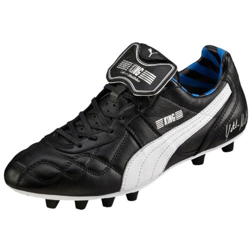 Puma Football Shoes King Lothar Matthäus black-puma silver-blue Tifoshop
